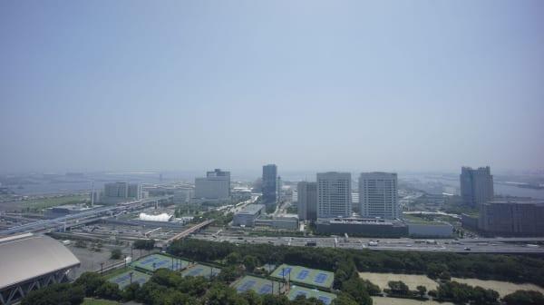 ブリリア有明スカイタワー高層階からの眺望