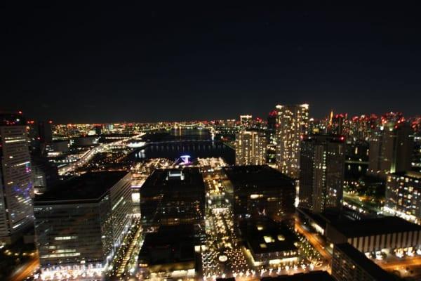 ザトヨスタワー 夜景