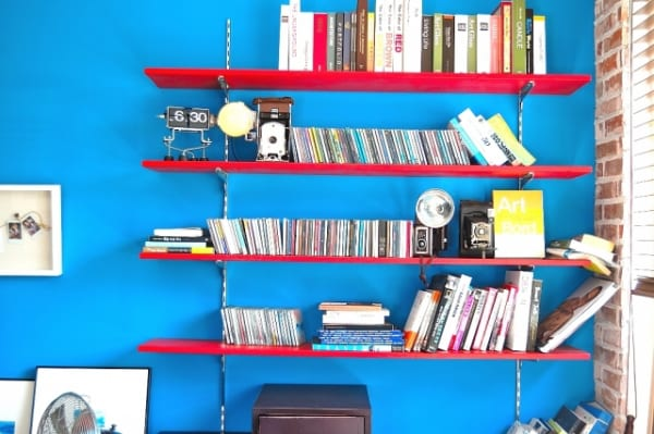 【DIY】ダボレール(棚柱)取り付けで壁面の棚収納!夢が広がる実例集