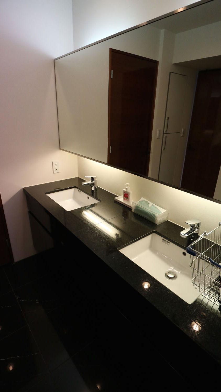 ゲストルーム(洋室)の洗面台