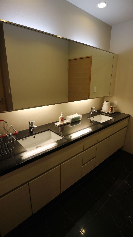 ゲストルーム(和室)の洗面台
