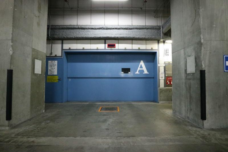 機械式の駐車場