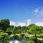 浜離宮と東京タワー
