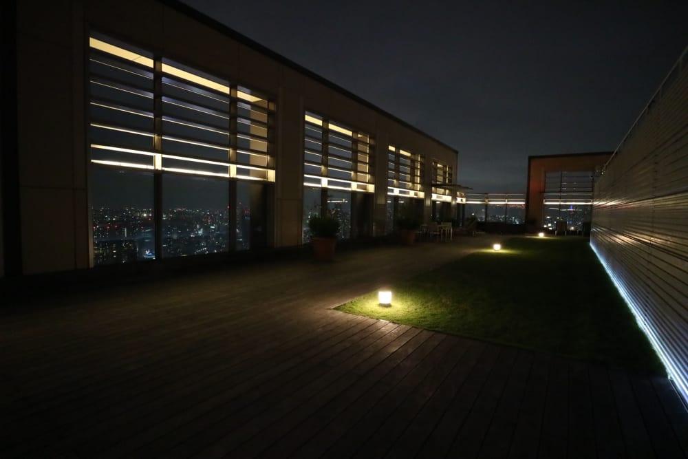 パークタワーグランスカイ 夜