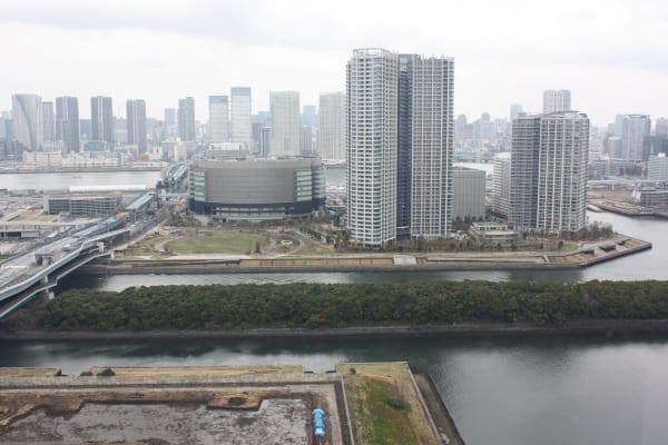 シティタワー有明の眺望(運河_新豊洲方面)