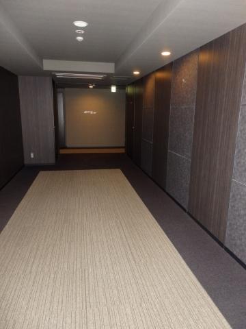 シティタワー有明の内廊下部分