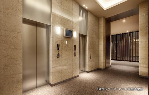 シティタワー武蔵小杉 エレベーター