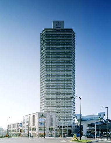 豊洲シエルタワーの外観