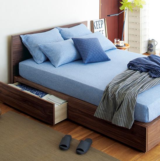 無印良品の収納ベッド