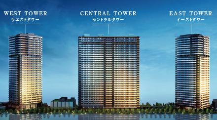 ガレリアグランデ 周辺の東京ベイトリプルタワープロジェクト