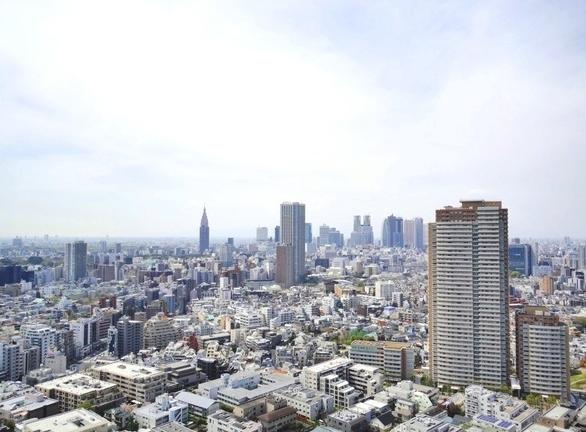 ザセンター東京 航空写真