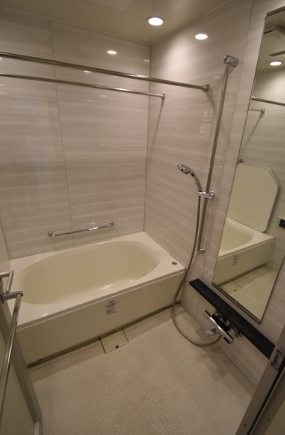 パークタワー東雲の浴室