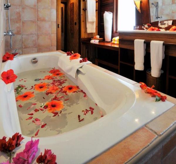 バスルーム フラワー