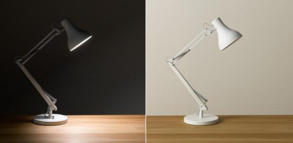 無印良品 LEDアルミアームライト