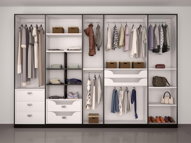 【無印良品】【IKEA】のアイテムで整理しやすいクローゼットを作る!