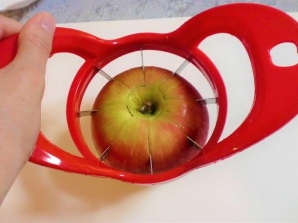 リンゴカット①