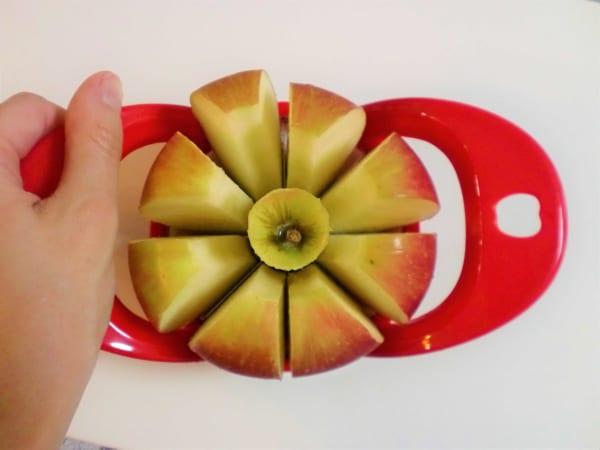 リンゴカット②