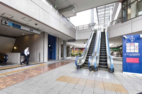 豊洲シエルコートは駅と直結している
