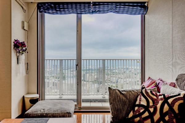 豊洲シエルタワーの眺望