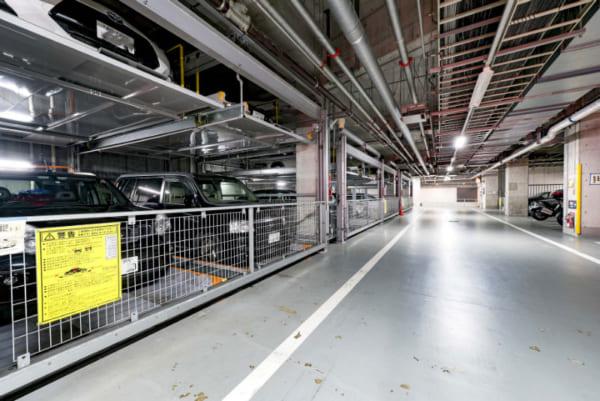 豊洲シエルタワーの駐車場