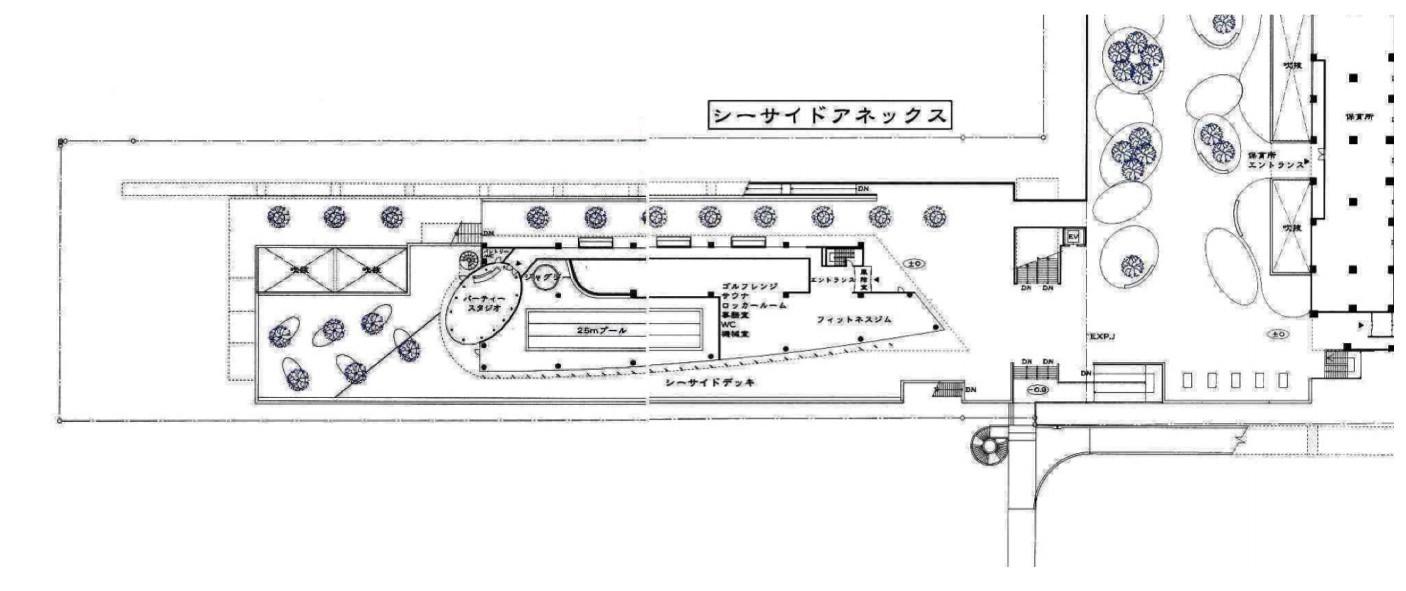 シーサイドアネックスの敷地図