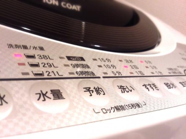 自宅で洗う場合、すすぎ2回で念入りに洗濯する