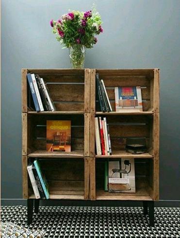 すのこの本棚