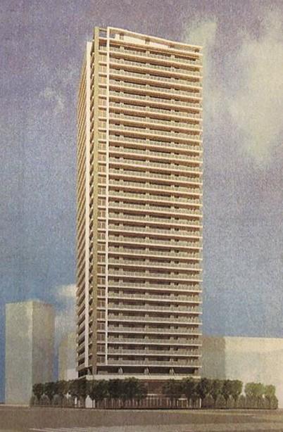 有明北2-1-A街区開発計画のタワーマンション