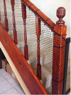 階段の安全柵