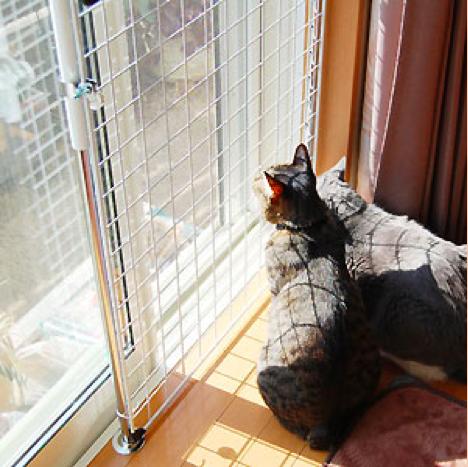 ペットのための防護柵