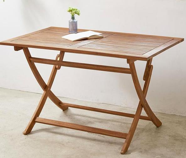 折りたたみ式ガーデンテーブル