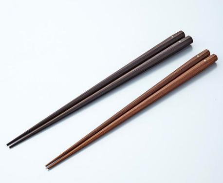 紫檀・黒檀の箸