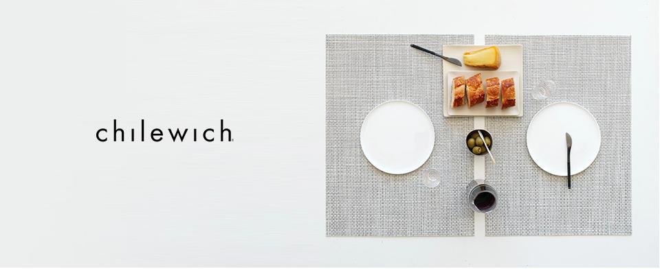 NY生まれのテーブルウェアブランド「chilewich(チルウィッチ)」でレストラン風の食卓を演出しよう!