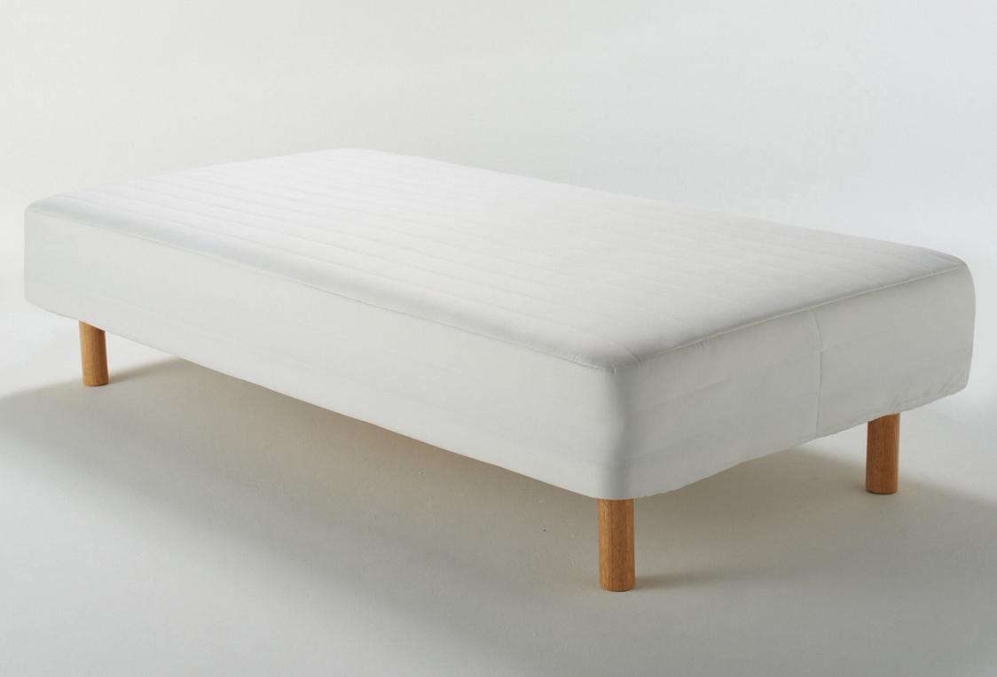 【優秀】脚付きマットレスの王者。無印良品のベッドを徹底紹介!