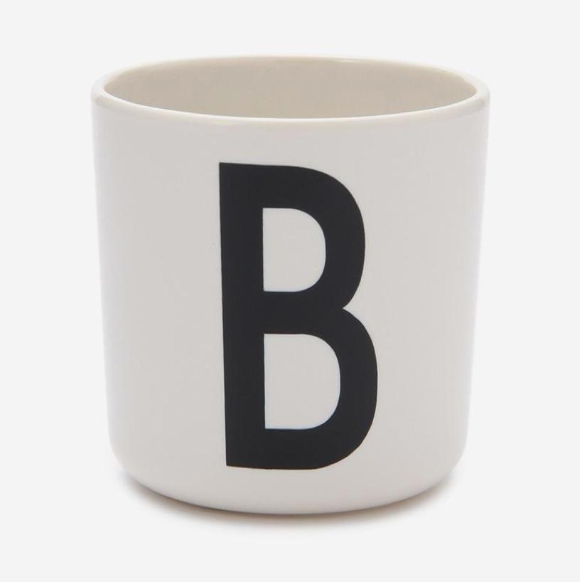 DESIGN LETTERS MELAMINE CUP B ¥1,620 (税込)