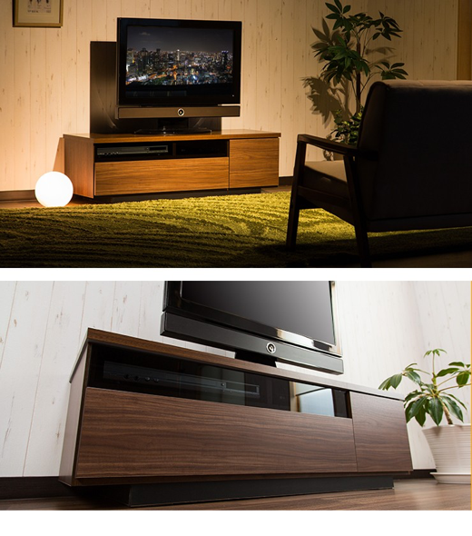 42V型対応 木製テレビボード