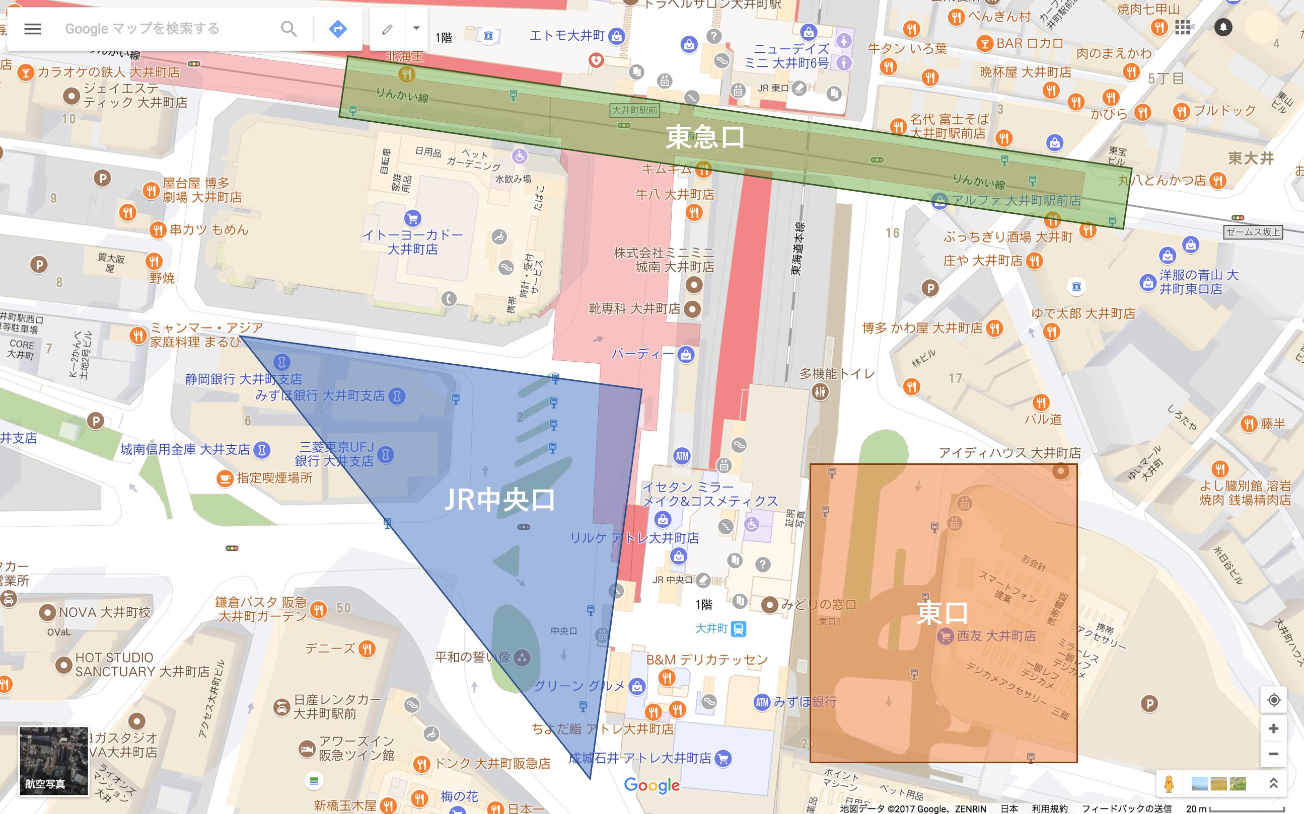 大井町駅_バスターミナル・バス停