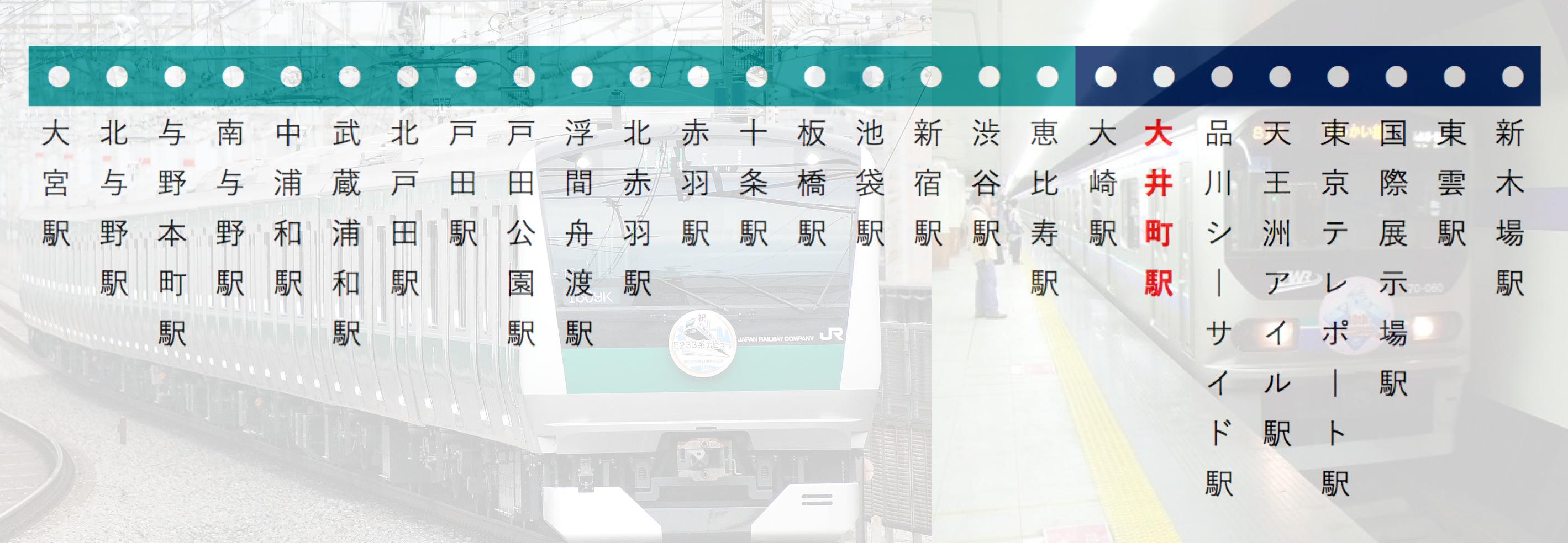 埼京線・りんかい線_路線図