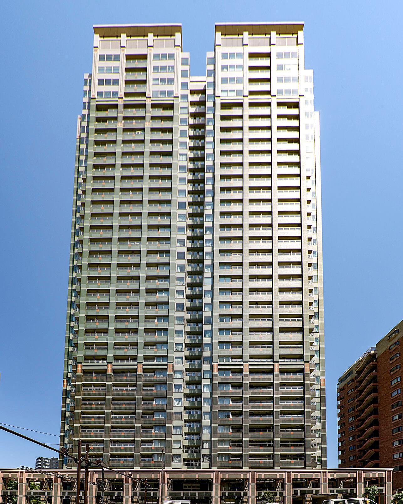 シティタワー高輪は豊かな庭園を抱き白金エリアにそびえる高級タワーマンション!