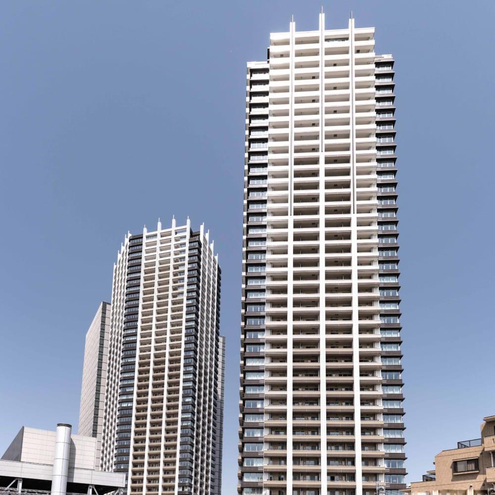 ブリリアタワーズ目黒のタワー外観
