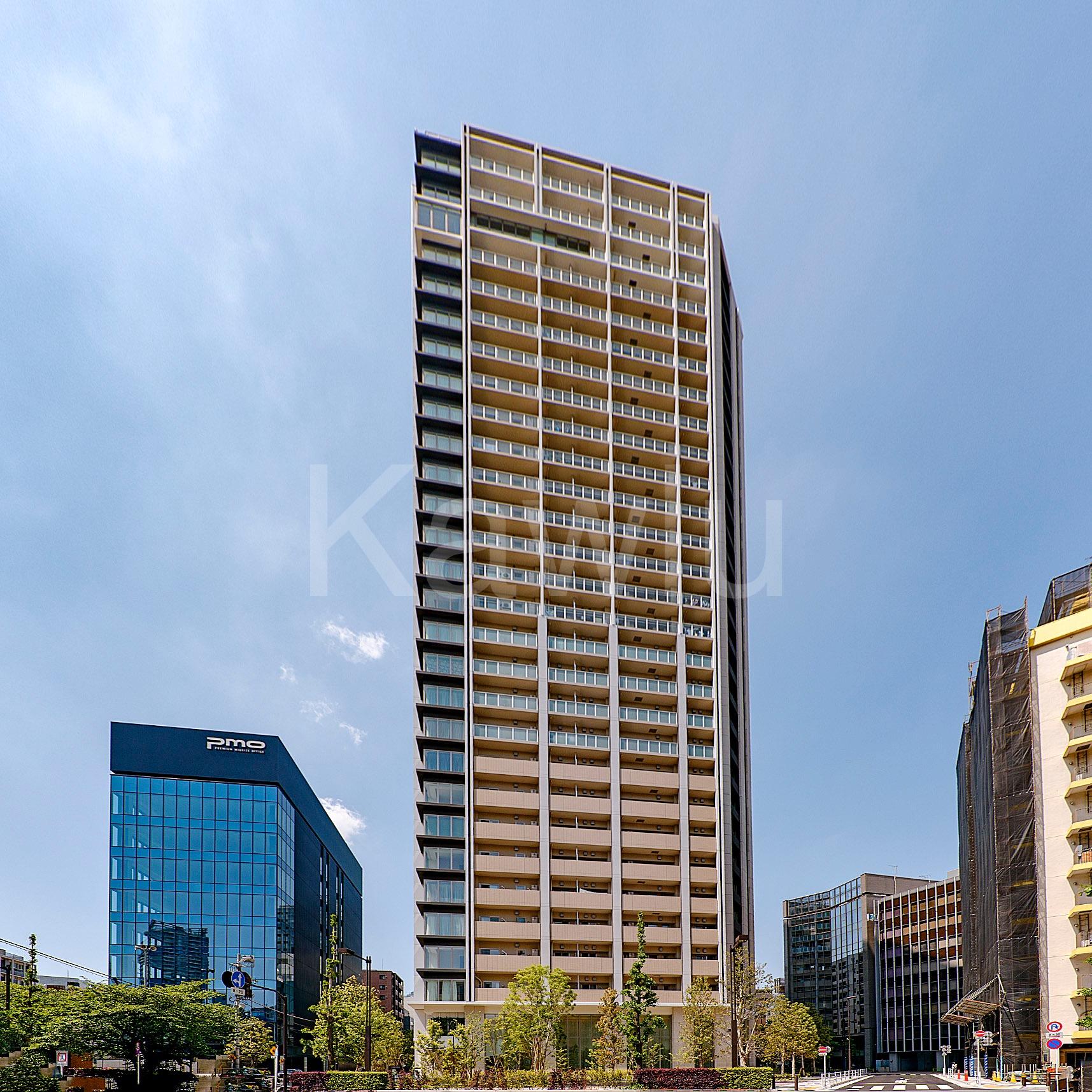 ブリリアザタワー東京八重洲アベニューは、駅近の高級タワーマンション!