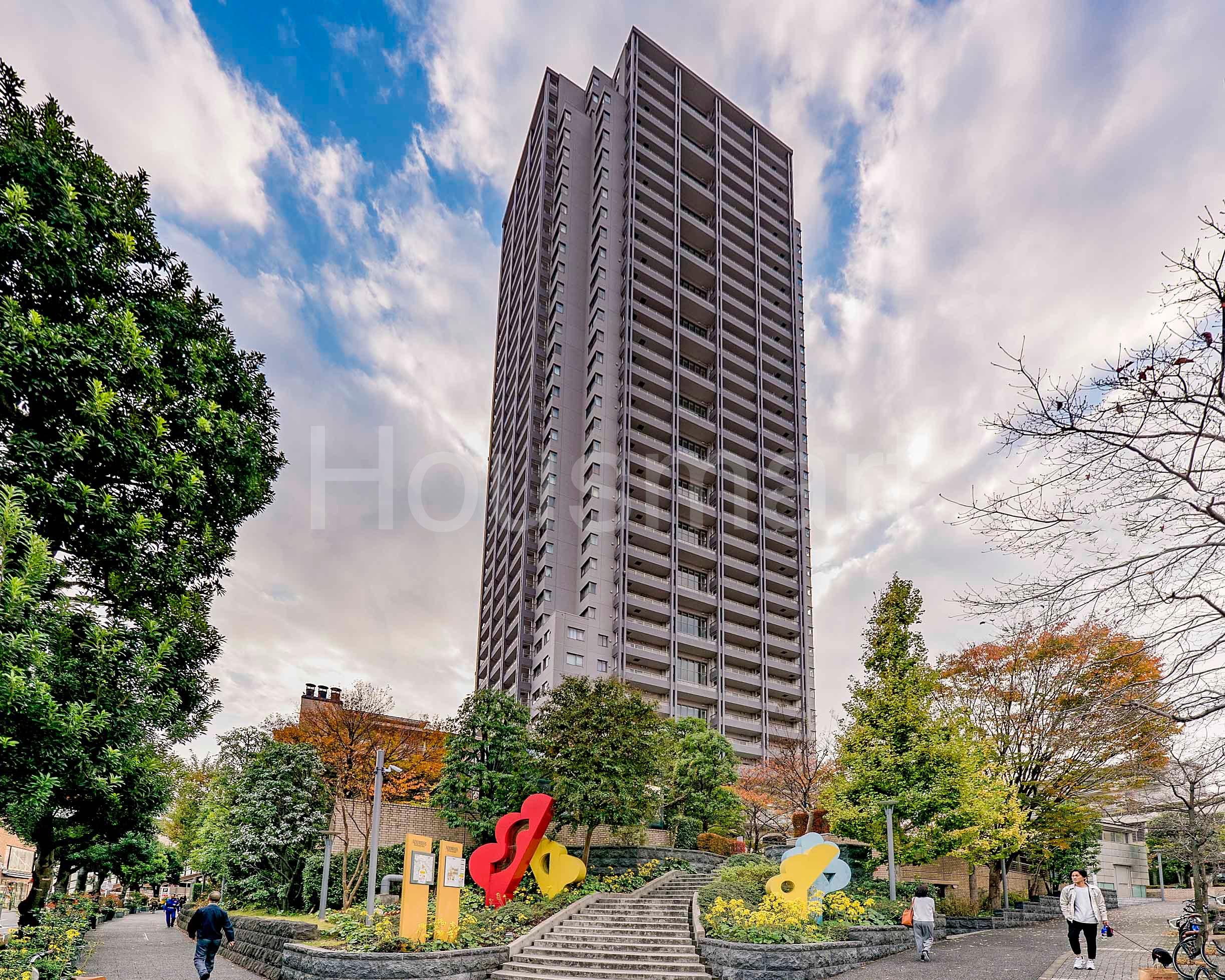 代官山アドレス ザ・タワーは、駅直結の高級タワーマンション!!