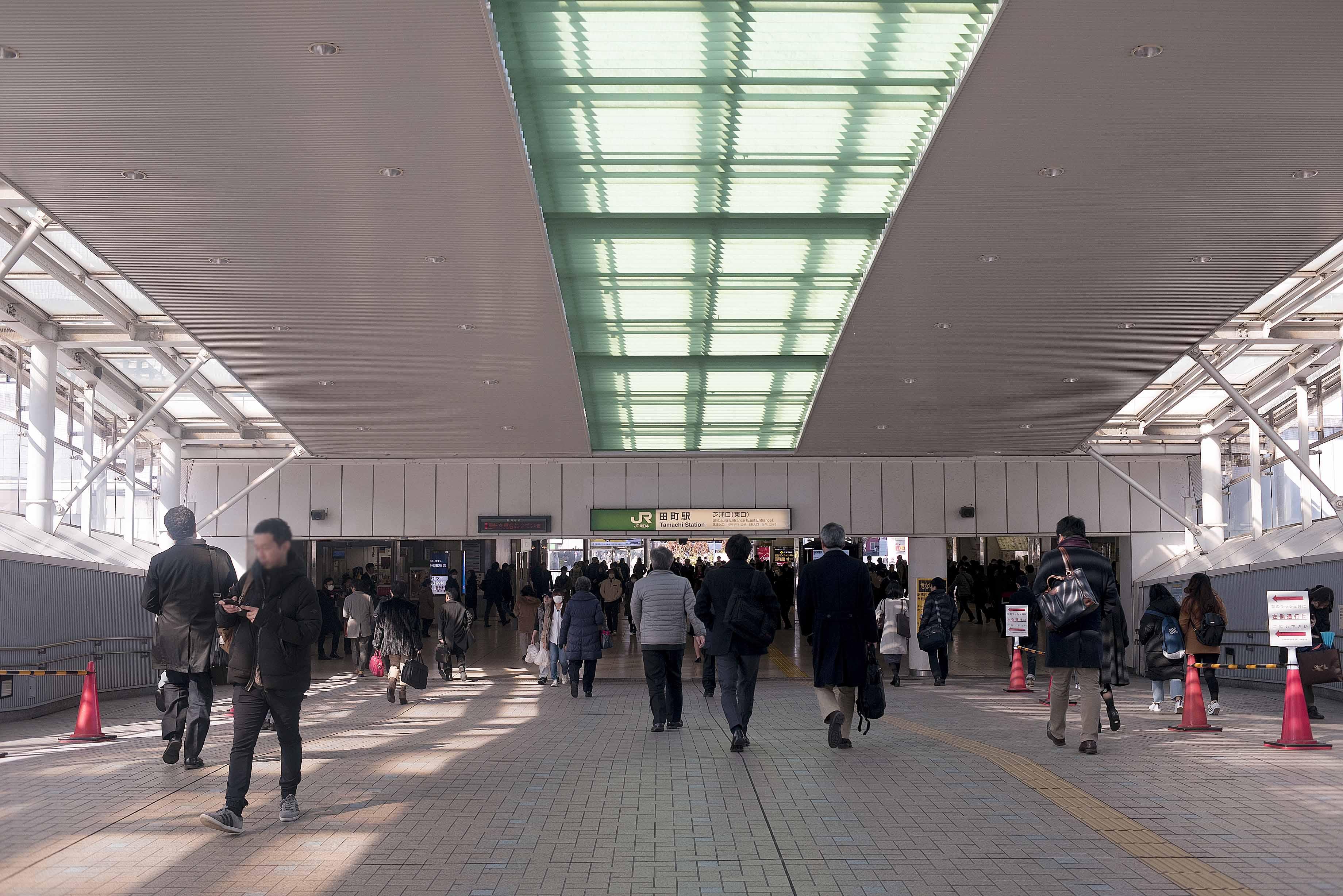 芝浦アイランドエアタワー_田町駅