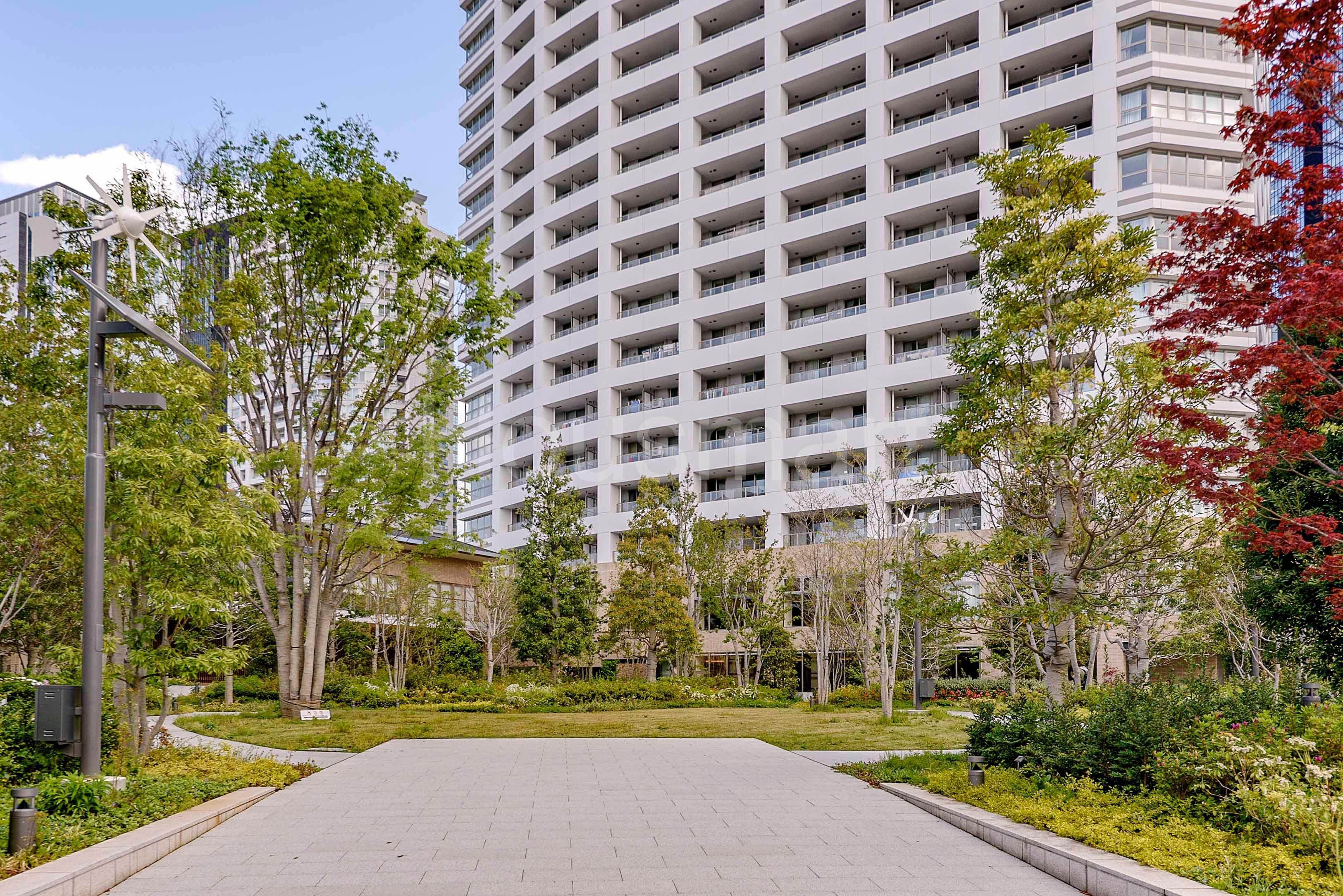 ザパークハウス西新宿タワー60_アプローチ