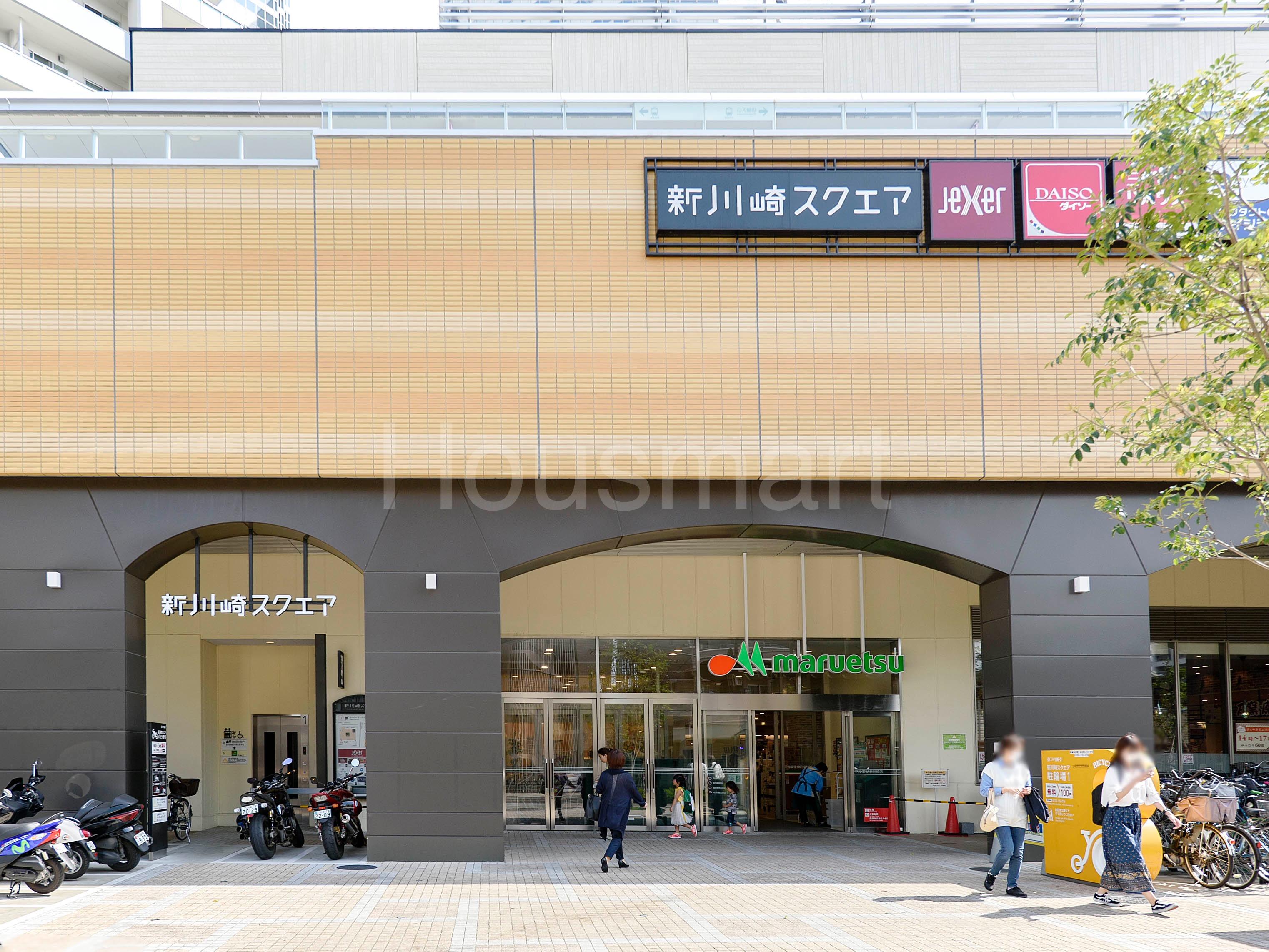 パークタワー新川崎_周辺環境
