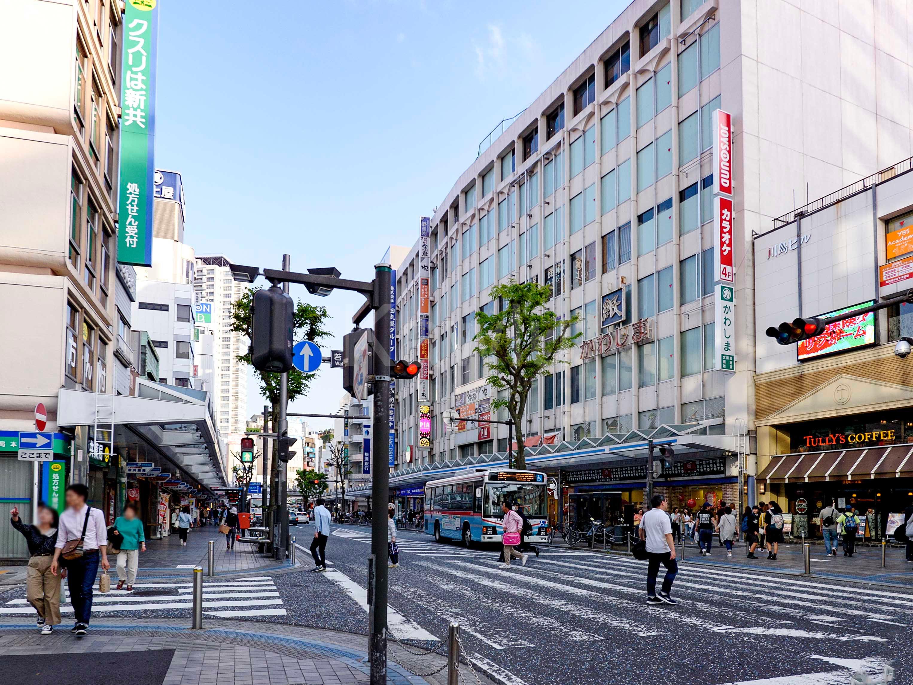 ザタワー横須賀中央_商店街