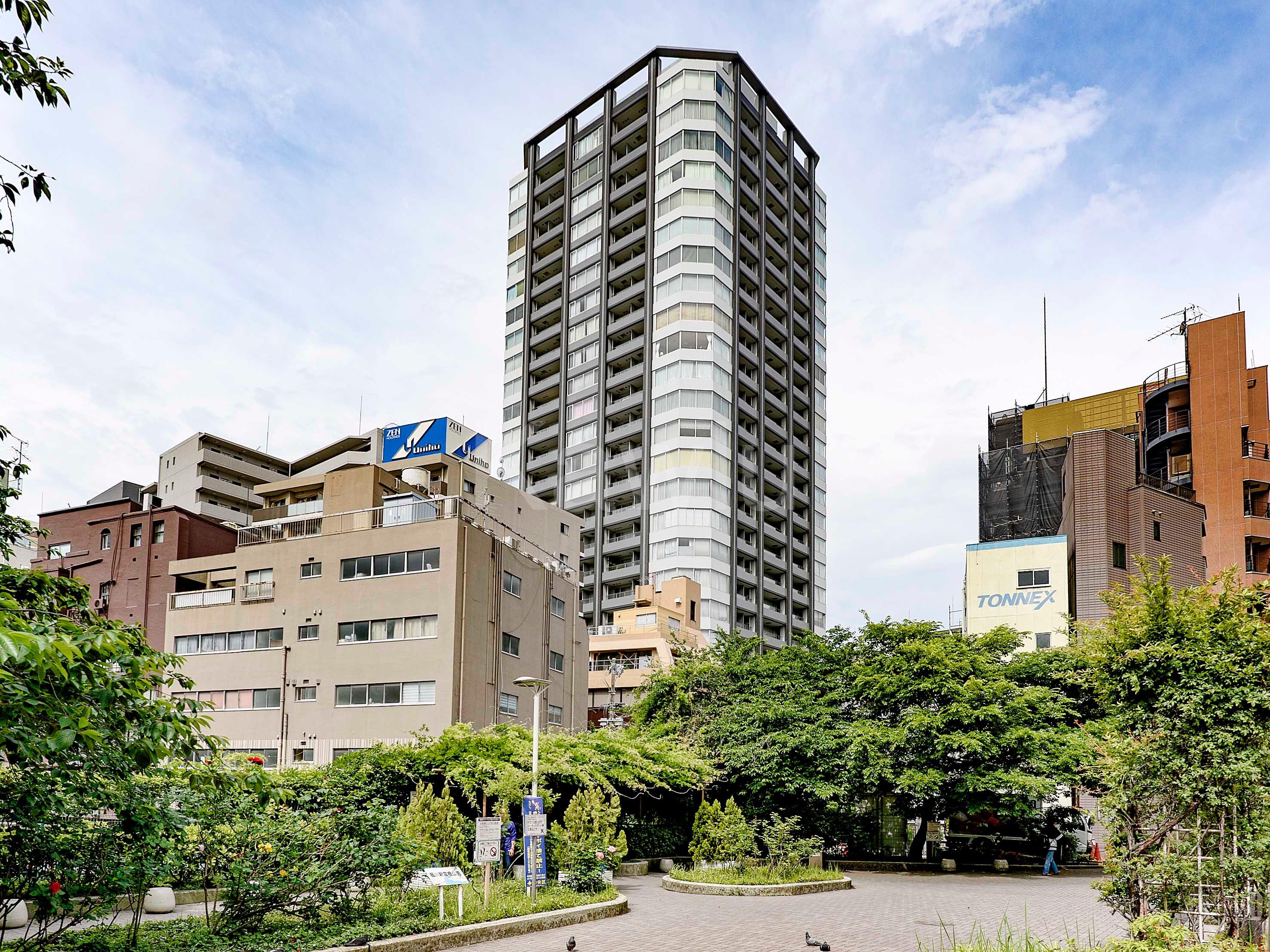 銀座タワーは、銀座を庭とする高級タワーマンション!