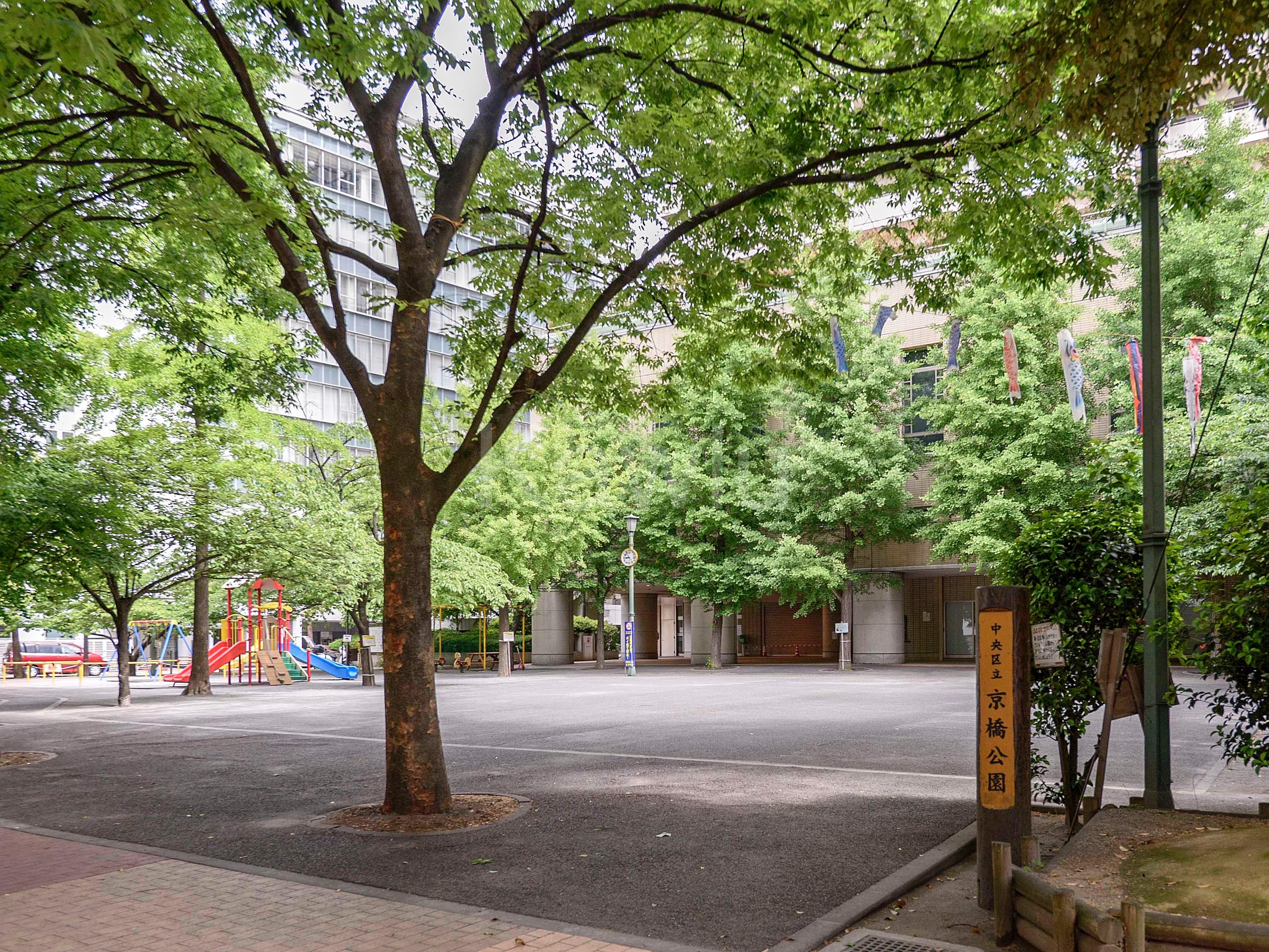 銀座タワー_公園