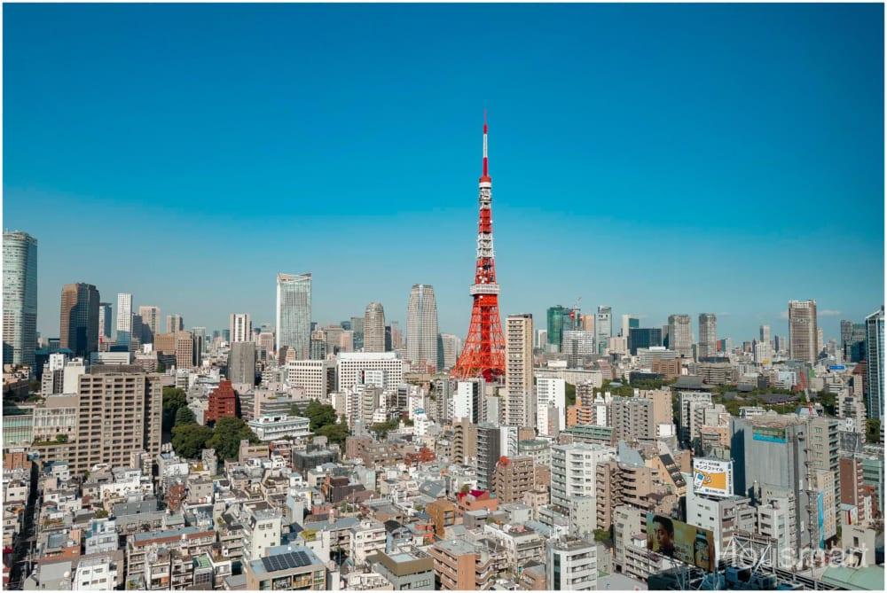 パークコート麻布十番・ザタワー_東京タワー