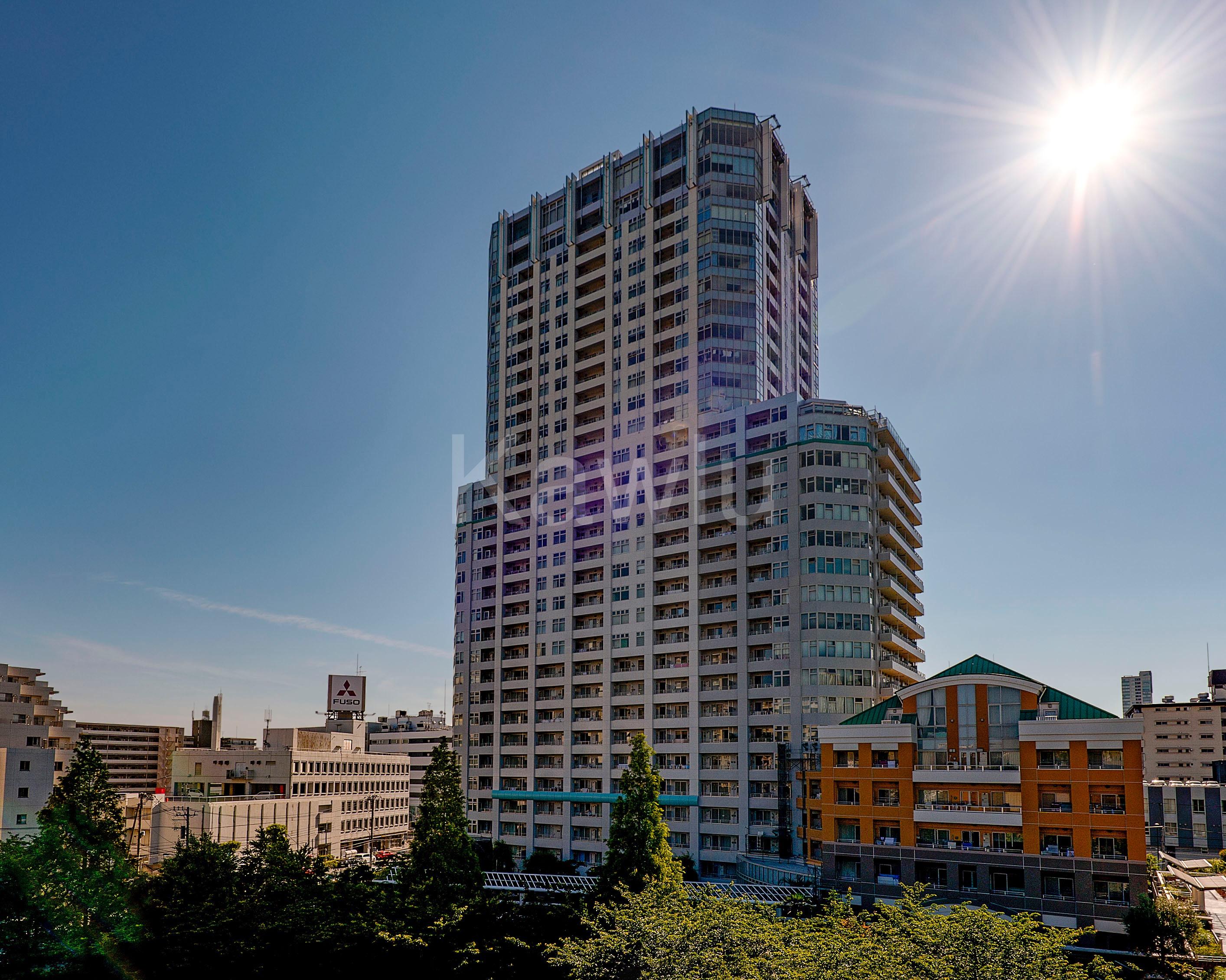 ラグナタワーは開発ラッシュで活気に沸く品川エリアのタワーマンション!